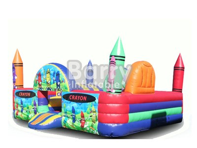 PVC Material Funny Inflatable Indoor Playground For Little Kids BY-IP-005